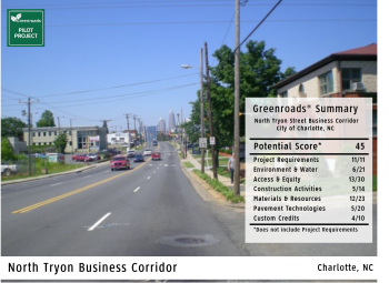North Tryon Street Business Corridor
