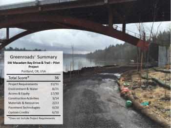 Sellwood Bridge Replacement: SW Macadam Bay Drive and Trail