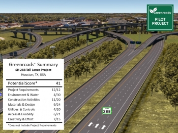 SH288 Toll Lanes Project