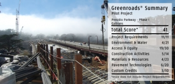 Presidio Parkway Phase I: Pilot Project