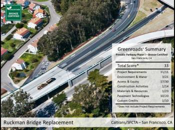 Presidio Parkway Phase I: Ruckman Bridge Replacement
