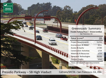 Presidio Parkway Phase I: Southbound High Viaduct