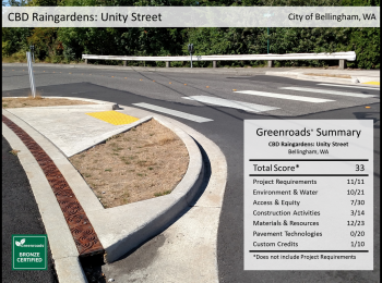 CBD Raingardens: Unity Street Improvements