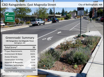 CBD Raingardens: East Magnolia Street Improvements