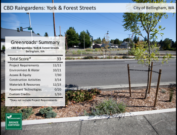 CBD Raingardens: York & Forest Streets