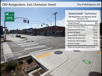 CBD Raingardens: East Champion Street Improvements