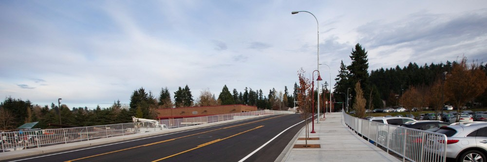 Kirkland, WA is home to the highest scoring Greenroads Project to date.