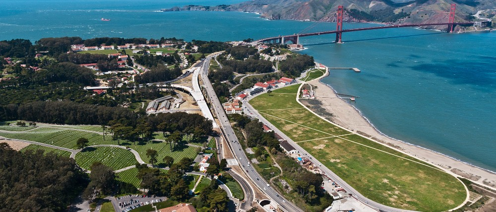 Presidio Parkway Phase I is first certified Greenroads highway in the United States.